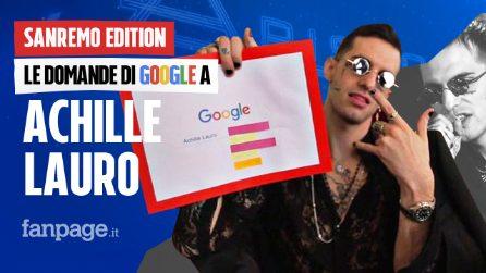Achille Lauro, Rolls Roys, Anna Tatangelo, Sanremo: il cantante risponde alle domande di Google