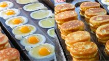 Egg cakes: the best street food ever!
