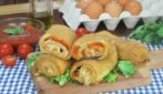 Pizzaiola rolls: cheese, tasty and ready in no time!