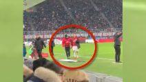 Piatek lascia il campo: la reazione dei tifosi del Milan