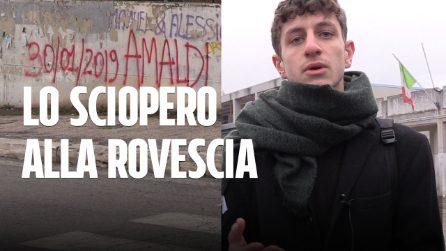 """Migranti, lo """"sciopero alla rovescia"""" del Liceo Amaldi, i ragazzi: """"Un modo per aprire gli occhi"""""""