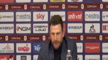 """Roma umiliata in Coppa Italia, Di Francesco: """"Non mi dimetto"""""""