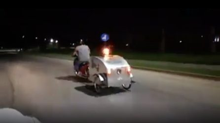 La moto ambulanza: l'invenzione per i nostri amici a 4 zampe