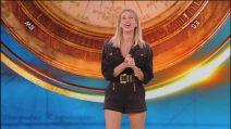 Il look di Alessia Marcuzzi per la seconda puntata dell'Isola dei famosi 2019
