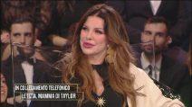 Alba Parietti spende parole positive per Taylor