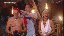 Paolo Brosio eletto leader nella seconda puntata dell'Isola dei famosi 2019