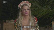 Isola dei Famosi, Francesca Cipriani si scusa col Divino Otelma dopo l'incidente
