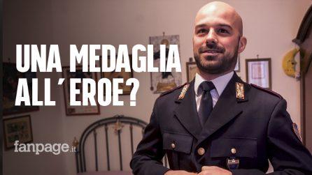 """Esplosione A14, il poliziotto eroe: """"Presidente Mattarella, perché per me nessuna medaglia?"""""""