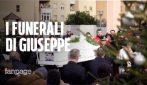 Bimbo ucciso di botte a Cardito, anche la mamma di Giuseppe Dorice ai funerali del figlio