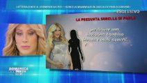 Domenica Live, Paola Caruso ha ritrovato la madre? La lettera della presunta sorellastra