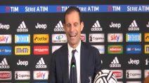 """Juventus, Allegri: """"Dispiace aver regalato due punti"""""""