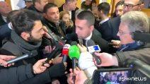 """Di Maio: """"Sulla Tav non siamo d'accordo con la Lega, ma il governo non è in discussione"""""""