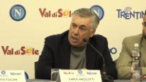 """Napoli, Carlo Ancelotti crede nello scudetto: """"Tutto ancora in ballo"""""""