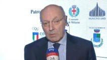 """Marotta: """"Spalletti, posizione solida. Parma non decisiva"""""""