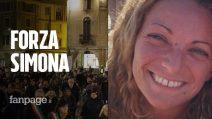 """Simona, bruciata in auto dall'ex amante, Vercelli in piazza: """"Rimettiti per i tuoi figli"""""""