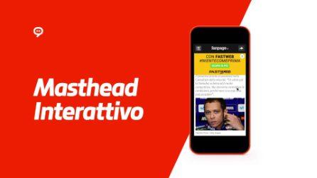 Masthead Interattivo Mobile per Fastweb