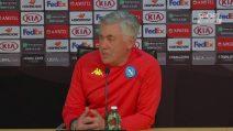 """Ancelotti: """"Momento chiave della stagione. Al mio Napoli do 7 come voto"""""""