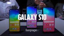 Abbiamo provato i nuovi Galaxy S10, S10+ e S10e di Samsung