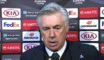 """Napoli, Ancelotti: """"Attacco stanco per la troppa fase difensiva"""""""