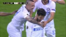Europa League, Inter-Rapid Vienna 4-0: gol e highlights
