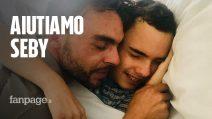 """La battaglia di un papà per il figlio Seby, malato di tumore: """"Ho un mostro alla testa, aiutatemi"""""""