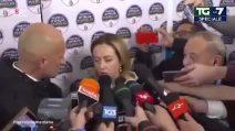 Giorgia Meloni bestemmia in diretta dopo la vittoria in Abruzzo?