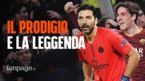 Nicolò Zaniolo e Gianluigi Buffon, i record Champions del predestinato e della leggenda