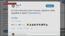 L'Inter toglie la fascia di capitano a Mauro Icardi