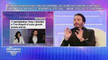 Tony Colombo si sposa e ne parla con Barbara D'Urso