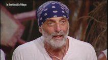 L'Isola dei Famosi - Paolo Brosio si sfoga e litiga con Alvin