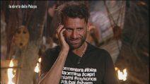 L'Isola dei Famosi - Ghezzal piange ascoltando la mamma