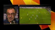 """Europa League, Sarri: """"Eviterei fortemente di giocare a Napoli"""""""
