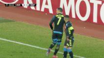 Zurigo-Napoli 0-2, il raddoppio di Callejon