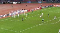 Zurigo-Napoli 0-3, il gol di Zielinski