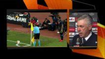 """Napoli, Ancelotti: """"Soddisfatto, Insigne sta ritrovando continuità. Pallone disastroso"""""""