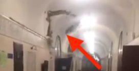 Una crepa sul soffitto: all'improvviso crolla il tetto all'università