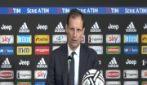 """Juve, Allegri: """"Dobbiamo segnare almeno un gol a Madrid, il passaggio del turno dipende da questo"""""""