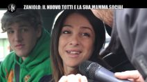 """Nicolò Zaniolo, il """"nuovo Totti"""" della Roma, e la mamma più cliccata dei social"""