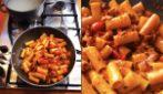 Rigatoni alla zozzona: tutto il sapore del pomodoro pachino in un primo piatto unico