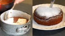 Torta al cioccolato con un cremoso cuore al cocco: una vera delizia