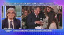 Maria Monsè festeggia le nozze di pizzo, Tina Cipollari testimone