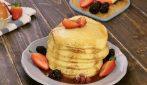 Pancakes dietetici al microonde: pronti in soli due minuti!