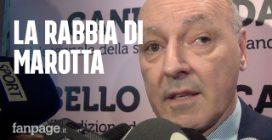 """Giuseppe Marotta: """"Il rigore di Firenze? Un danno irreparabile per l'Inter"""""""