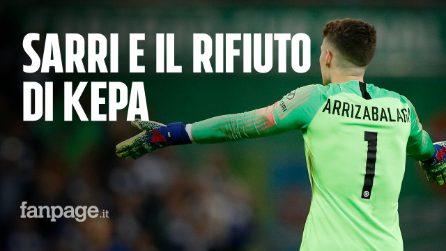 """Di Gennaro: """"E' Sarri che comanda, Kepa doveva uscire"""""""
