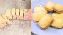 Butter cookies scottish: the original recipe with only 3 ingredients!