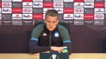 """Napoli, Zielinski: """"Tatuaggio per l'Europa League? Mamma non vuole"""""""