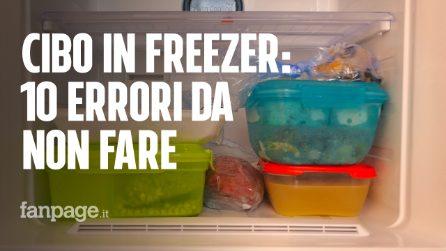 10 errori da non fare quando si usa il freezer!