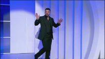 C'è Posta per Te 2019, Rino Gattuso accolto dal fragoroso applauso del pubblico