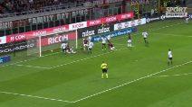 Serie A, Milan-Sassuolo 1-0: highlights e gol