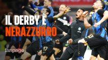 L'Inter batte il Milan 3-2: l'analisi del derby della madonnina, risolutivo Vecino
